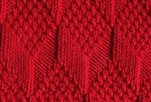 Knitting stitches and tips