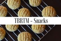 TBRTM - Snack Recipes / Healthy snacks recipes from the blog that are not ony easy to make but delicious too. www.thebellyrulesthemind.net