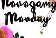 MONOGAMY MONDAY
