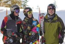 High School and Middle School Ski Adventures / Every year TASIS faculty and students enjoy skiing in the Alps Crans Montana (HS) or St. Moritz (MS)