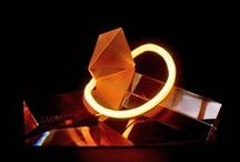 Glass Sculpture by Adrian Grecu