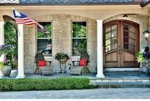 Curb Appeal / Ideas to spruce up the outside of your home. Let Fry-Wagner move you into your next home. We are here for you; whether you need a little help... or a lot. www.fry-wagner.com