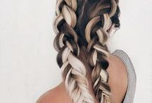 BEAUTY | hairstyles and hair inspiration / Simple and easy hairstyles for short and long hair