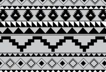 Aztec / prints & embotidery motifs