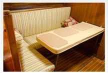 Below Deck / Make the cabin of your boat feel like home (because maybe it is!). Create a comfortable homey space in your berths and salon with tips and inspiration found right here.  / by Sailrite