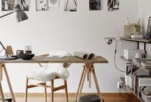 OFFICE / Office Inspirations  Home decor | Objects | Illustrations | Painting