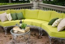 Outdoor Living / Find inspiration for creating a comfortable, relaxing outdoor living space. From fabric inspiration, how-to instructions and quick tips, let us be your guide to DIY-ing your outdoor space.   / by Sailrite