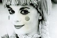 Clowns, masked faces I like
