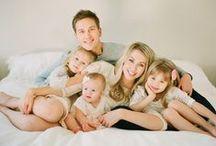 Família Margarina / Fotos de famílias. Ideias para fotografias com a família reunida.
