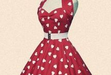 50's fashion / I want a shop when I'm older full of beautiful 50's dresses, lace, tea length. OMG I love the 50's wish everyone wore dresses now!
