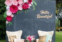 WEDDING BACKDROPS / Gorgeous & easy DIY wedding Backdrops! The best inclusive diy wedding planning information, inspiration and online DIY wedding tutorials  |diy |wedding |diyweddingplanner|how to DIY wedding|