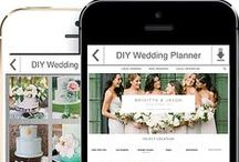 DIY WEDDING PLANNING / The DIY wedding Planner App has everything you need to plan your wedding like a PRO! https://itunes.apple.com/us/app/id961137479#diyweddingapp #diy #wedding  #diyweddingplanner #weddingapp