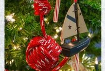Ideas for a Nautical Christmas / Get great inspiration for bringing your love of the sea to your Christmas tree this holiday season!  / by Sailrite