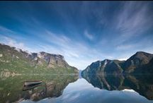 Aurland Fjord, Norway / I never get tired of hunting for scenic shots of the beautiful West coast of Norway.