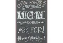 Mother's Day / Gorgeous gift ideas for mom with love from Woolworths