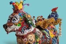 Hurmaava mosaiikki ja Niki de Saint Phalle