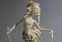 Taidenuket II / Art doll