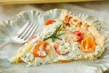 Vegetarian Quiche and Pie