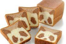 Bread, Bun & Loaf / Le Pain / パン / 빵 / by Hijiri Tk