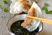 Gyoza , Dumpling or Potsticker (餃子)(만두) / by Hijiri Tk