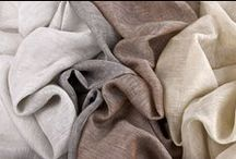 Linens / Fine linens add luxury, warmth and a delicious texture to a room