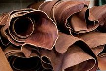 Leathers & Hides / Luxury leathers and hides visualized with interiors