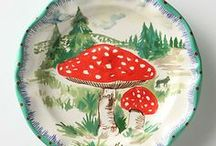 Magic Mushrooms! / Mushroom  decor items and mushrooms in nature. Either way they're MAGIC!
