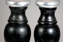 Salt And Pepper Shakers / They come in all shapes and sizes and styles and add anything from whimsey to elegance to the table.