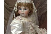 Antique Dolls / beautiful bisque and porcelain rare dolls