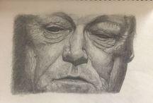 Kunst - Zeichnungen und Anderes / Darunter auch ein paar eigene Bilder ...
