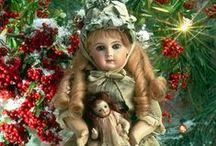 Antique Vintage Christmas / christmas decoration, cards, Vintage Antique Victorian Christmas objects