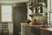Make Mine Primitive. / Primitive with wood, Cabinets, Shelves, Cupboards, Tables / by Diana Preston