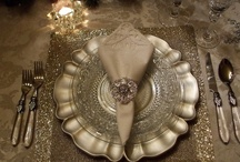 If My Table Could Talk... / Table settings, Tablescapes, Entertaining Ideas / by Diana Preston