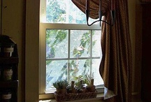 Right Inside My Window.. / Window Treatments / by Diana Preston