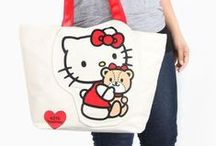 Hello Style / Bags, accessories, apparel and more! Stay in touch with Hello Kitty fashion for adults and kids. / by Hello Kitty