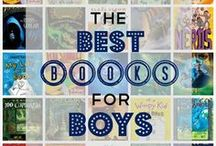 Read: Books for Boys / My son just loves to read which makes my heart smile.  Here are some of his favorites.