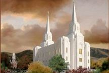 LDS Temples, Christ & sayings / by Elaine