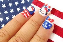 Hello Kitty Nails / Get your nails done - Hello Kitty style! / by Hello Kitty