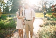 engagement.  / Our 1920s / Vintage Inspired Engagement Session by Lane Baldwin Photography http://www.lanebaldwinphotography.com/2012/11/hailee-stefan-engagement.html