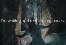 song lyrics  / by Catie sherman