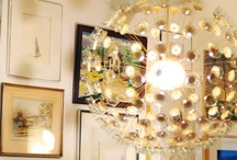 Home - Lighting Ideas / Various lighting ideas. Vintage, DIY, Indoor, and Outdoor. / by Jackie S