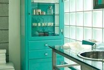 Home - Bathroom / Ideas I like for bathroom decor and design / by Jackie S