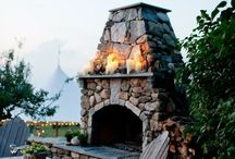 Fire-Pits and Fireplaces / by Jacqueline Garran