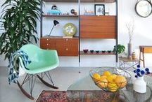 Home - Mid-century Modern / So I really like mid-century modern furniture.  Ideally, I'd love to find a few cool pieces to mix in with our home. / by Jackie S