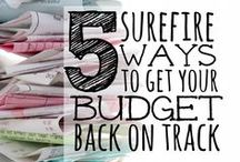 Organize: Budget / Ideas and tips for developing a family budget.