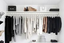 Organization, storage and closets / Organization storage and closet spaces
