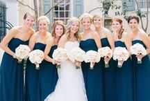 Blue and White Weddings / Details and scenes from gorgeous blue and white Weddings.