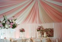 Pink Weddings / Our favorite pieces from pink, coral, peach, blush and bashful (and every shade of pink in between).