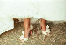 Bridal Accessories / A collection of shoes, bags, and jewelry for you to wear on your big day!