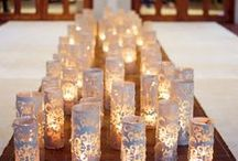 Wedding Lighting / Our favorite pics of lanterns, chandeliers, candles, and anything to help create the ambience of the affair!